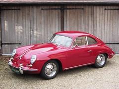 Porsche 356 B T5 1600 Super (1962).