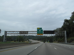 Interstate 376 - Pennsylvania (Dougtone) Tags: road bridge sign highway pittsburgh pennsylvania tunnel route freeway shield interstate expressway i376 interstate376 090312