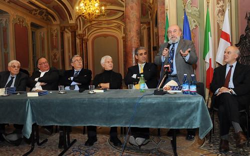 Mario Cervi,  Mauro della Porta Raffo, Gian Antonio Stella, Don Bachy, Marcello Foa, Enrico Beruschi, Edoardo Croci