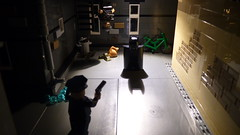 Batman : Friend or Foe (Legoagogo) Tags: alley lego batman policeman chichester moc afol legoagogo
