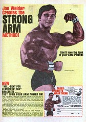 Joe Weider Strong Arm Bracelets (1971)