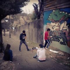 Grafo-mural en proceso...rdc crew <3 (Chize_RDC crew) Tags: chile street art rio square graffiti calle stencil mural artist arte negro squareformat sutro osorno mapuche indigena muralismo srteetart iphoneography instagramapp uploaded:by=instagram foursquare:venue=4c53917a30f92d7fcd75fcb8