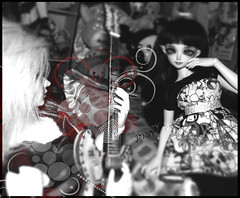 The Horror Of Our Love (serenity jenny) Tags: playing hot love fashion rock ball dark doll dolls guitar ooak gothic goth vincent n romance clothes elf willow rocker soul bjd fairyland joint eliya vito tokidoki jointed souldoll minifee sharics