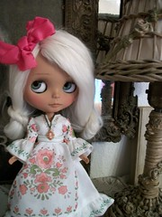 Pure Eye Candy..... (simplychictiques) Tags: antiques bella customizedblythe newlashes heatherskycustom ooakblythedoll whitealpacareroot mabbow hpeyechips gorgeouslids faceupwithcarvings helloblythe1custom