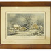 "265. G. H. Durrie ""Winter in the Country"" Lithograph"