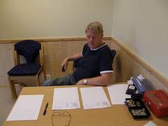 """Målselvtreffen 2007. Johannes har listene klare og tar imot påmelding • <a style=""""font-size:0.8em;"""" href=""""http://www.flickr.com/photos/93335972@N07/8507309785/"""" target=""""_blank"""">View on Flickr</a>"""