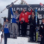 U18 Nationals GS at Georgian Peaks - BC Team's Brodie Seger (Whistler Mountain Ski Club) fastest BC guy finishing 2nd PHOTO CREDIT: JP Daigneault