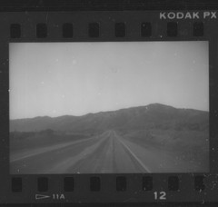 California 1988 (Area Bridges) Tags: california blackandwhite highway driving 1988 80s eighties 1980s