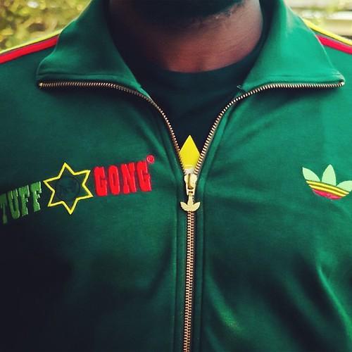 Asistencia ayudar presentar  The Mythical Adidas Originals Bob Marley Tuff Gong Track Top by  EnLawded.com - a photo on Flickriver