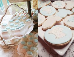 "Baby shower cake table • <a style=""font-size:0.8em;"" href=""http://www.flickr.com/photos/60584691@N02/8547731206/"" target=""_blank"">View on Flickr</a>"