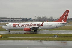 PH-CDE Boeing 737 Corendon Dutch Airlines (eigjb) Tags: holland netherlands dutch amsterdam plane airplane march airport aircraft aviation boeing airlines schiphol ams spotting airliner 737 eham b738 2013 corendon phcde