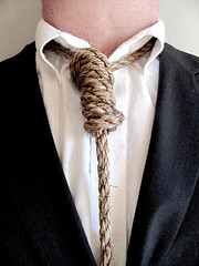 Society's Noose (AshleyHockingPhotography) Tags: portrait tie rope suit tuxedo fancy society noose proper