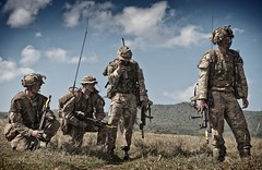Soldiers from the Desert Rats (Defence Images) Tags: africa uk man male soldier army exercise kenya military british defense defence personnel desertrats identifiable