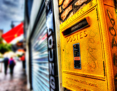 Antibes Post-Box-2013-03-14-13 (Mark Tasker Photos) Tags: france canon mark 5d cote antibes hdr dazur mark2 tasker