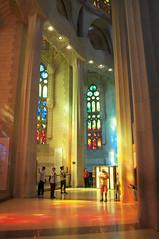 Sagrada Famlia V (*JRFoto*) Tags: world barcelona spain nikon masonry belief famlia fisheye gaud marvel 8mm sagrada antoni hdr modernisme chappel d90 samyang jrfoto