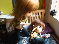 DONDE ESTÁ KURO? (Shinobu y el dinosaurio) 30 (Lunalila1) Tags: stella boy outfit doll track 21 dal v phoebe wig groove pullip ho 27 kuro bratz obitsu stica