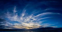 Catherine Wheel (intrazome) Tags: ocean light sunset sea cloud sun seascape nature water beautiful weather clouds landscape coast nikon cornwall cloudscape d5100
