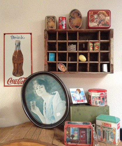 A bit of my vintage Coca-Cola collection...