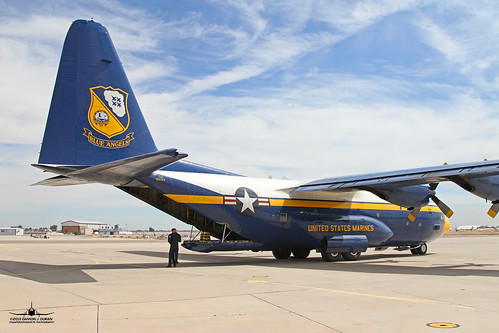 "Blue Angels ""Fat Albert Airlines"" C-130T Buno 164763"