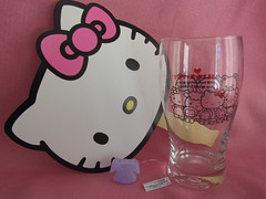 Hello Kitty Fan & Facebook Glass Cup (Suki Melody) Tags: hello las pink vegas friends pets cute cup glass cat square fan town store kitten bears nevada kitty sanrio kawaii monkeys characters jewel facebook trinkets freebie freebies jewelpets