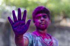 Holi 2013, Chennai (Vasanthkumar Kanagaraman) Tags: street india kids 50mm kid nikon colours ngc tradition chennai holi tamilnadu southindia cwc travelphotography parrys incredibleindia discoverindia vasanthkumar sowcarpet d7000 nikond7000 chennaiweekendclickers vasnt