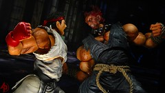 Ryu Vs. Akuma (advocatepinoy) Tags: toys play display action arts geeks nerds animation marvellegends squareenix drama ryu streetfighter capcom shoryuken neca akuma gouki hadouken streetfighter2 sf4 toyphotography nerdrum marvelselect acba shingouki playerselect streetfighter4 satsuinohadou ryustreetfighter akumastreetfighter playartskai dominicdimagmaliw advocatepinoy advocate928 filipinocollector streetfighterbattle advocateproductions streetfighterclassic