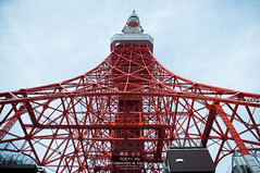Tokyo Tower (Pop_narute) Tags: tokyo tokyotower landmark japan tower symbol life city