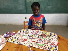 Carline (Haiti Partners) Tags: childrensacademy 2016 july haiti entrepreneurship socialbusiness artscrafts papermaking
