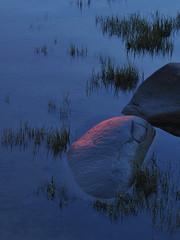 Baie de Rimouski - 2 (Patrice StG) Tags: sunset river dusk gimp qubec stlawrence stlaurent crpuscule couchant coucherdesoleil fleuve stlawrenceriver bassaintlaurent basstlaurent d700