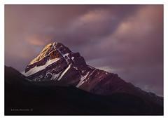 Canada (twistednoodle) Tags: 2016 canada alberta mountains sunrise clouds colour sonya7rii kathsalier snow