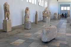 P1280559 (Cinzia, aka microtip) Tags: delos cicladi grecia archeology antichit archaelogy unescoworldheritagesite mithology sanctuary ancientgreece archaeologicalmuseum sculpture