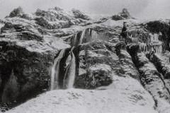 frozen tears (asketoner) Tags: frozen cascade winter grain iceland ice cold landscape nature hike barnafoss hraunfossar