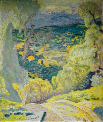 Pierre Bonnard - Southern Landscape Le Cannet, 1928 (Musee d'Orsay Paris France) at Pierre Bonnard: Painting Arcadia Exhibit Legion of Honor Museum of Fine Arts San Francisco CA (mbell1975) Tags: sanfrancisco california unitedstates us pierre bonnard southern landscape le cannet 1928 musee dorsay paris france painting arcadia exhibit legion honor museum fine arts san francisco ca museo muse muzeum museu musum mze finearts gallery gallerie beauxarts beaux french impression impressionist impressionism