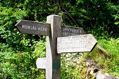 Which Way Now? (hplarc78) Tags: monsal head sign post peak district green holidays signpost summer tranquil monsalhead peakdistrict