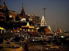 Manikarnika Ghat (audun.bie) Tags: morning dawn india varanasi ganga ganges ghat manikarnika cremation death nirvana samsara temple temples burial