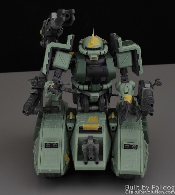 Motor King - 1-100 Zaku Tank Review 10 by Judson Weinsheimer