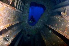 New Flame Wreck (ShaunMYeo) Tags: gibraltar gjibraltar ibraltaro hibraltar xibraltar  gibraltr giobrltar gibilterra calpe gibraltrs gibraltaras  ibilt       cebelitark           underwaterphotography scubadiving wrecks ikelite newflame