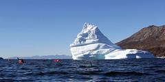 the same from the other side ; we are so tiny (twiga269  FEMEN #JeSuisCharlie) Tags: twiga269 om  whatareyoutrainingfor gettingstrongereveryday wanderlust wilderness mountainwilderness mw gngl grandnordgrandlarge gro023 groenland kalaallit nunaat kalaallitnunaat disko bay baiededisko ilulissat qeqertaq saqqaq kayak iceberg ice gletscher ericchazal artic diskoline inlandsis torssukatak eqi eqip sermia iceisbeautiful