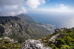 View From Table Mountain (Neal_T) Tags: 12mm africa beach coast fuji fujifilm landscape samyang southafrica ultrawideangle wideangle xt10 tablemountain capetown westerncape za
