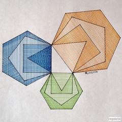 20160330 (regolo54) Tags: regolo54 geometry symmetry pattern mathart square circle disk escher sacredgeometry mandala evolution progression handmade