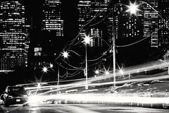 Your echo leaves a trace (*CityPines*) Tags: toronto distillerydistrict city longexposure lighttrails