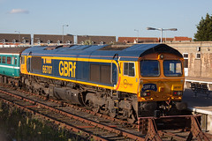 GBRf 66707 Great Yarmouth (daveymills31294) Tags: gbrf 66707 great yarmouth class 66 667
