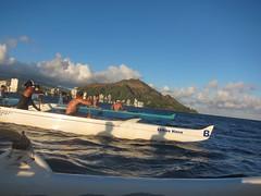 IMG_6827 (nautical2k) Tags: waikikibeachboys paddling outrigger canoe diamondhead honolulu oahu