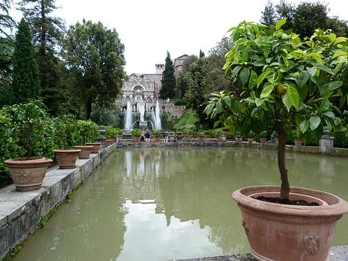Tivoli - Villa d'Este, garden view (3)
