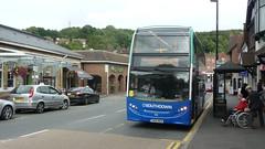 Brand new for Southdown (bobsmithgl100) Tags: southdownpsv 500 yn66 wua yn66wua scania alexander dennis enviro400 bus route409 stationavenue caterham surrey