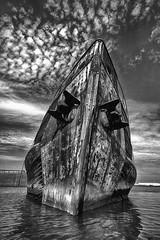 Graveyard of Ships Staten Island New York (Chip Renner) Tags: hdr efix statenisland newyork newjersey shipwreck blackwhite bw high contrast highcontrast killvankul killvankull chiprenner jerseyunknowns fineart beautiful erotic trump obama award explored interesting putin sex