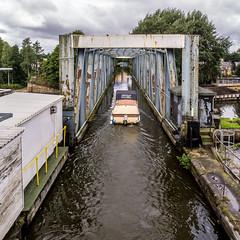 BARTON AQUADUCT (I.K.Brunel) Tags: england unitedkingdom barton bridgewatercanal aquaduct manchestershipcanal