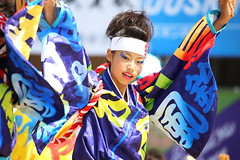 YOSAKOI DANCE (Teruhide Tomori) Tags: woman lady people human dance yosakoi festival stage japan japon fukui girl yosakoi