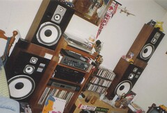 The old school wall of sound!! (DjD-567) Tags: big redsox ct technics sound optimus loud speakers radioshack enfield koosh jvc equalizer realistic grimm 06082 thethesoulmining 1061whcnfm