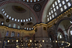 (Sana Manejwala) Tags: school windows college kitchen glass turkey nikon minaret muslim islam prayer arches courtyard istanbul mosque dome empire chandeliers sultan ottoman cami salat magnificent ablution masjid sleymaniye salah camii suleymaniye suleymaniyemosque suleiman madarasa suleimanthemagnificent d5100